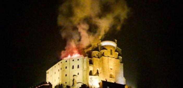 Incendio alla Sacra di San Michele: chiediamo chiarezza